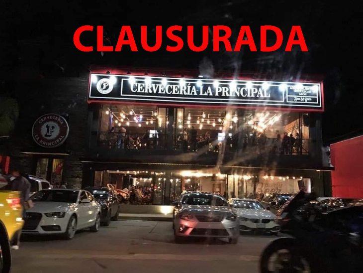 clausuran bar por coronavirus