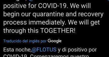 trump positivo coronavirus