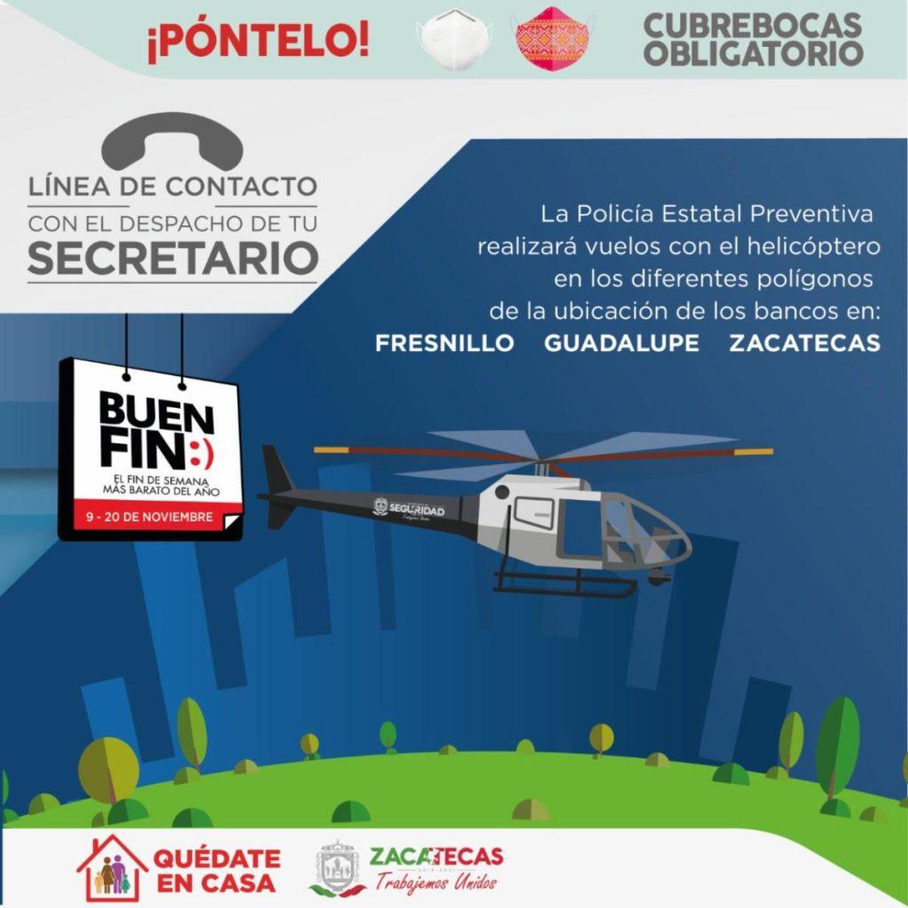 Inicia Operativo Buen Fin en Zacatecas.