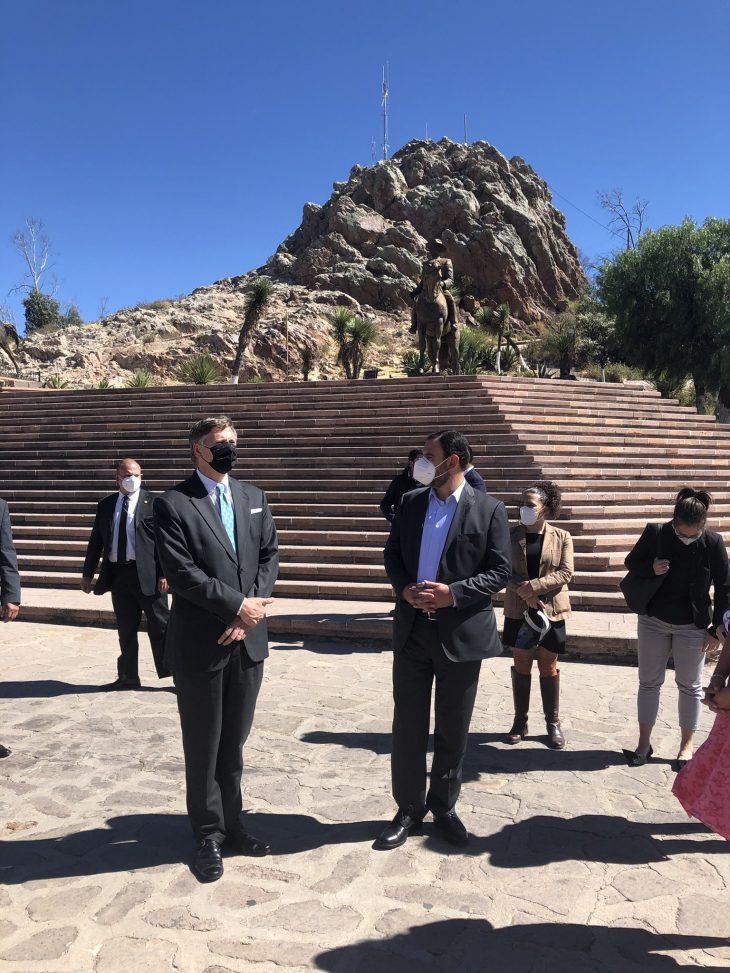 embajador estados unidos en méxico visita zacatecas